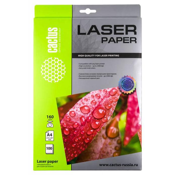 Cactus CS-LPA4160100 глянцевая фотобумага для лазерной печати