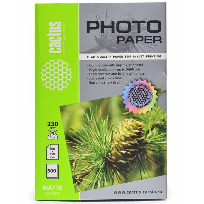 Cactus CS-MA6230500 матовая фотобумагаCS-MA6230500Cactus CS-MA6230500 - фотобумага для высококачественной печати с матовым покрытием поверхности. Бумага обеспечивает насыщенные цвета, мгновенное высыхание чернил, долговечность отпечатков. Совместима как с пигментными, так и с водорастворимыми чернилами.