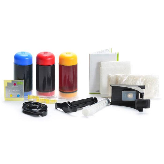 Cactus CS-RK-C9352, Color заправка для HP DeskJet 3920/3940/D1360/D1460/D1470/D1560/D2330/D2360CS-RK-C9352Заправочный комплект Cactus CS-RK-C9352 для перезаправляемых картриджей HP DeskJet 3920/ 3940/ D1360/ D1460/ D1470/ D1560/ D2330/ D2360/ D2430/ D2460/ F370/ F375/ F380/ F2180/ F2187/ F2224/ F2280.Расходные материалы Cactus для печати максимизируют характеристики принтера. Обеспечивают повышенную четкость изображения и плавность переходов оттенков и полутонов, позволяют отображать мельчайшие детали изображения. Обеспечивают надежное качество печати.