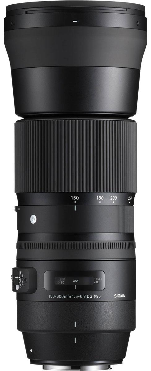 SigmaAF150-600mmF/5-6.3DGOSHSM|C, Black объектив для Canon sigma af 24mm f1 4 dg hsm art black объектив для canon