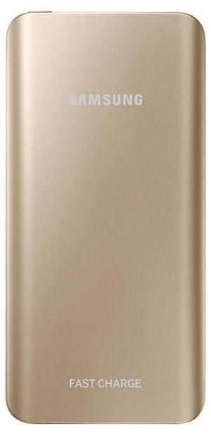 Samsung EB-PN920U, Gold внешний аккумуляторEB-PN920UFRGRUУвеличьте скорость заряда мобильного устройства с превосходным внешним аккумулятором с поддержкой функции быстрой зарядки. 10 минут зарядки обеспечивают до четырех часов работы вашего устройства. Портативный аккумулятор двух ослепительных оттенков - серебристый титан и золотая платина, выглядит стильно и модно.