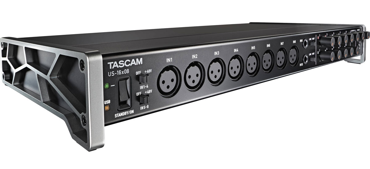 Tascam US-16x08, Black аудиоинтерфейс