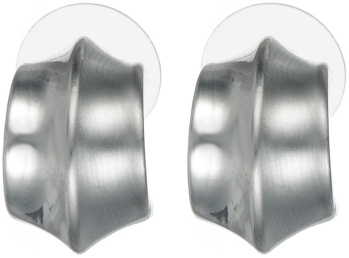 Серьги Taya, цвет: серебристый. T-B-6034Пуссеты (гвоздики)Стильные серьги Taya выполнены из металлического сплава. Застегиваются серьги на замок-гвоздик.Серьги Taya подчеркнут ваш стиль и помогут внести разнообразие в привычный образ.