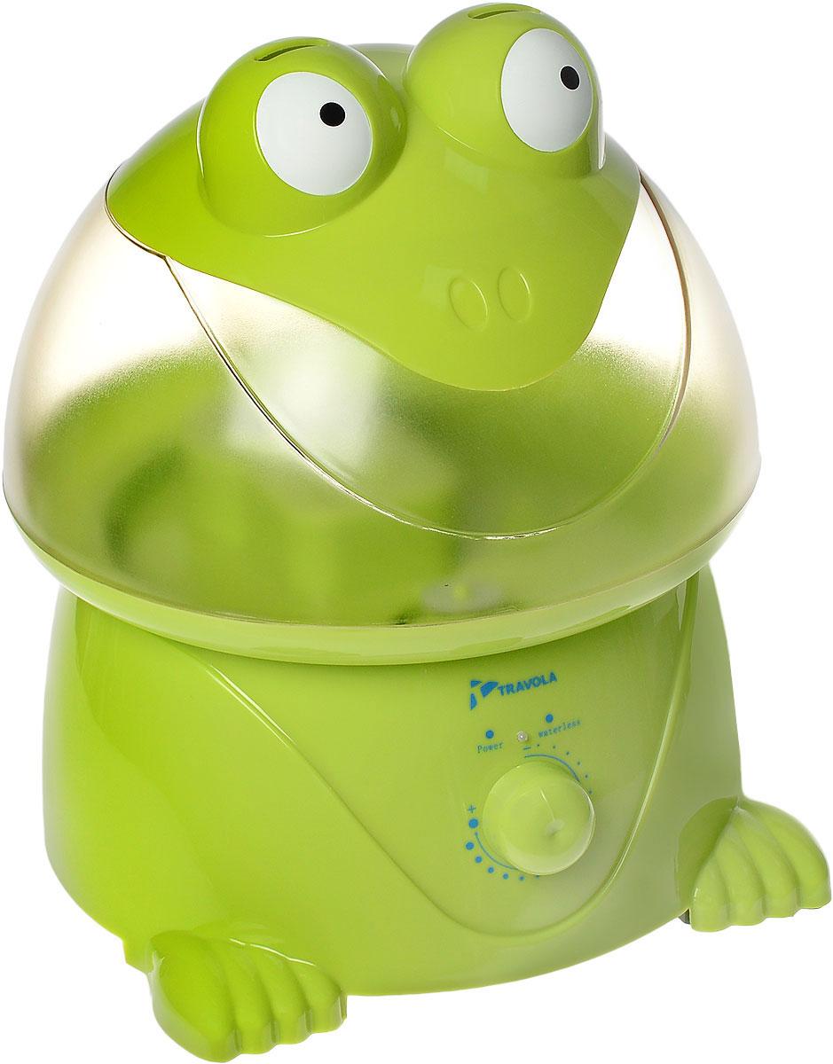 Travola GO-2003 ультразвуковой увлажнитель воздухаGO-2003Travola GO-2003 - это ультразвуковой увлажнитель воздуха для всей семьи, который отличается качеством и высокой надежностью. Даная модель сделает воздух в вашем доме чистым и свежим, а яркий дизайн станет хорошим украшением детской комнаты. С помощью этого прибора вы также можете производить распыление различных ароматов, полезных для всей семьи. Устройство очень просто в использовании. Продолжительность работы составляет примерно 10-12 часов. * Победитель номинации «Лучшая собственная торговая марка в сегменте ONLINE»Премия PRIVATE LABEL AWARDS (by IPLS) —международная премия в области собственных торговых марок, созданная компанией Reed Exhibitions в рамках выставки «Собственная Торговая Марка» (IPLS) 2016 с целью поощрения розничных сетей, а также производителей продовольственных и непродовольственных товаров за их вклад в развитие качественных товаров private label, которые способствуют росту уровня покупательского доверия в России и СНГ.