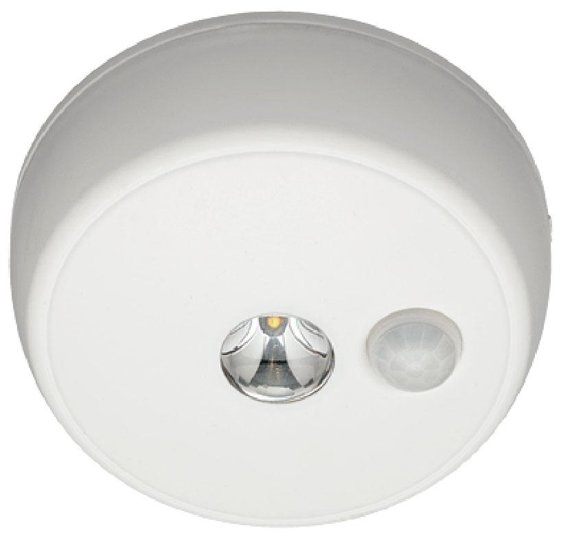 Светильник MrBeams MB980, беспроводной, с датчиками движения и освещенности, LED светильник, потолочный, 100 люмен, белый, 4 х СMB980Беспроводной LED светильник с датчиками движения и освещенности Варианты применения: для использования внутри помещения и на улице. Подсветка в любом нужном месте - кладовка, подвал, гардеробная, ванная, мансарда, чердак, беседка. Яркость: 100 люмен, Цвет Белый (3500K)Площадь освещения: 24,2 кв. метраДатчик движения: дистанция срабатывания: 3- 6 метров Датчик освещенности: активация работы светильника только в темнотеТаймер отключения при отсутствии движения: 30 секунд.Время работы на одном комплекте батареек: 1 год работы ежедневного типового использования или до 35 часов непрерывной работыПитание: 4 щелочные батарейки типа С (1.5 В) Простота монтажа/демонтажа: Крепление саморезами (в комплекте).Безопасность: Отсутствие электрической проводки, корпус защищен от случайного проникновения маленьких детей.Надежность: срок службы LED до 30000 часов. Высококачественный пластик с защитой от ультрафиолетовых лучей – не выгорает под солнцем.Размеры (Ш*В*Г): 12,7 * 12,7 * 3,8 смВес: 29 г (без батареек)