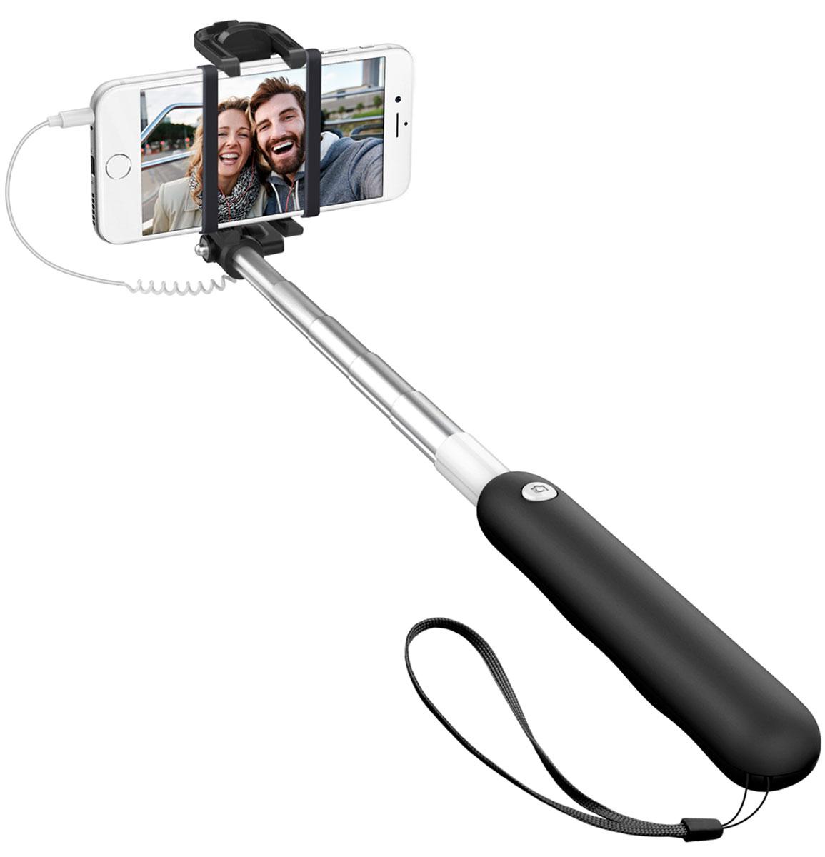 Deppa монопод для селфи, Black (72 см)45001Deppa- ручной телескопический монопод для проведения фото и видеосъемки с максимальной нагрузкой 1 килограмм. Удобная ручка монопода изготовлена из ABS - пластика с покрытием Soft Touch. Для управления имеется удобно расположенная кнопка на рукоятке. Подключается к смартфону через разъем 3,5 мм.