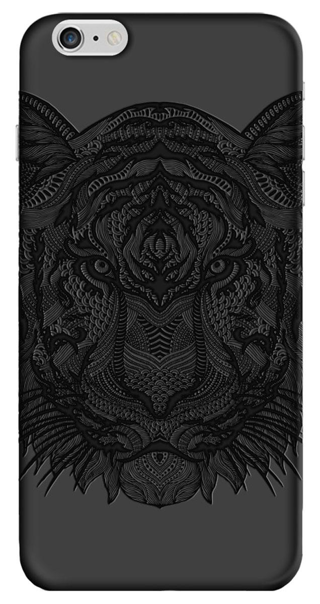 Deppa Art Case чехол для Apple iPhone 6 Plus/6s Plus, Black (тигр) клип кейс deppa art case для apple iphone 7 plus рисунок черный тигр