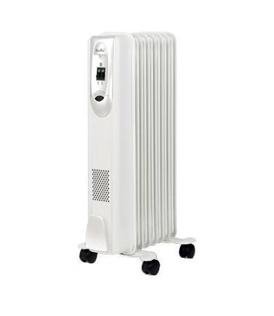 Ballu Comfort BOH/CM-07WD масляный радиаторBOH/CM-07WDNМаслонаполненные радиаторы BALLU – это мобильные и современные приборы, выполненные в эксклюзивном дизайнерском решении. Антикоррозийный состав защищает модели от негативных воздействий внешней среды, матовое текстурное покрытие увеличивает теплоотдачу на 20%, а высокоточный термостат нового поколения автоматически поддерживает температуру в помещении.Принцип действия Внутри герметичного металлического корпуса, наполненного минеральным маслом, находится электрическая спираль. При нагреве, она передает тепло маслу, масло передает тепло корпусу, а корпус - воздуху.Защитный антикоррозийный состав Protective coating - защищаетот негативных воздействий внешней среды. Термостат новогопоколения Opti-Heat - с функцией автоматического поддержаниятемпературы обеспечивает более эффективный обогрев. Конструкция ножек Highstability - полностью исключает возможность опрокидывания.Комплекс Easy moving для свободы перемещения.