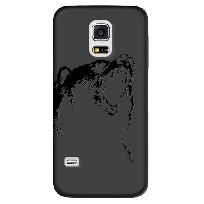Deppa Art Case чехол для Samsung Galaxy S5 mini, Black (медведь)100268Чехол Deppa Art Case для Samsung Galaxy S5 mini предназначен для защиты корпуса смартфона от механических повреждений и царапин в процессе эксплуатации. Имеется свободный доступ ко всем разъемам и кнопкам устройства. Чехол изготовлен из поликарбоната толщиной 1 мм и оформлен принтом с изображением медведя.В комплект также входит защитная пленка из трехслойного японского материала PET.