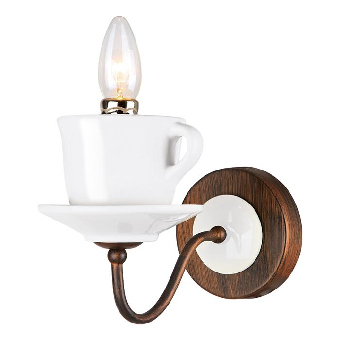 Светильник настенный Arte Lamp SERVIZIO A6483AP-1WH