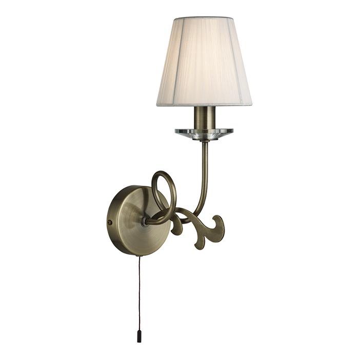 Светильник настенный Arte Lamp LIZZY A9531AP-1ABA9531AP-1AB
