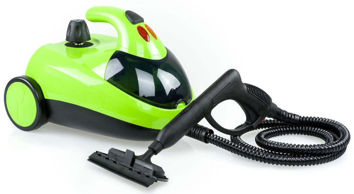 Kitfort KT-908 пароочистительKT-908Пароочиститель Kitfort КТ-908 - многофункциональный аппарат, способный заменить моющий пылесос, дезинфектор, стеклоочиститель, отпариватель для тканей. Используя силу горячего пара, пароочиститель великолепно очищает любые поверхности и обеспечивает деликатную глажку вещей. Прибор очень удобен в использовании, и работа с ним не требует от пользователя каких-то особых навыков и умений.Устройство безопасно для здоровья человека и не приносит вреда окружающей среде. Горячий пар под давлением может удалять грязь, жир и известковые отложения с различных поверхностей, убивать патогенные микроорганизмы, бактерии и домашних клещей, которые могут вызывать аллергические реакции и астму. Сухой пар быстро испаряется, не оставляя следов влаги на поверхности. При очистке поверхностей паром не требуется применения химических чистящих средств, что улучшает экологию дома, и также позволяет сэкономить на покупке чистящих средств. Kitfort КТ-908 отличается футуристическим внешним видом и высоким рабочим давлением в 4 бара. Ручка парового пистолета оснащена удобной кнопкой подачи пара в виде курка и фиксирующимся блокиратором, который не нужно держать нажатым во время работы. Кнопку подачи пара также можно зафиксировать в нажатом положении.Спереди под откидывающейся крышкой чёрного цвета находится отсек для хранения принадлежностей, в котором удобно хранить мелкие насадки и тряпки.Имеется индикация готовности к работе и сигнализация отсутствия воды. Алюминиевый бойлер быстро прогревается и устойчив к образованию накипи.Напряжение: 220 В, 50 ГцРабочее давление пара: 4 бараВремя разогрева: 12-15 минут