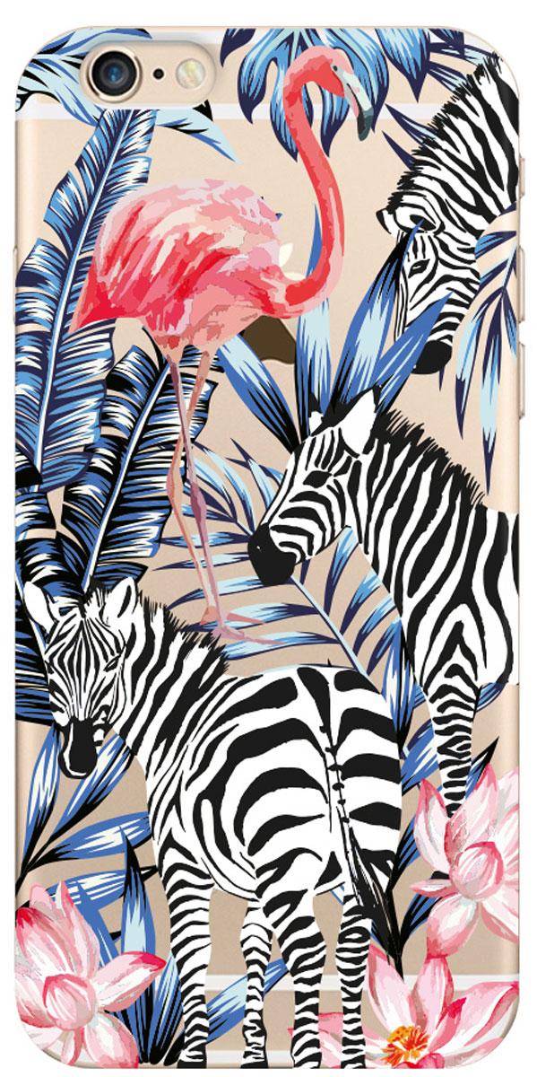 Deppa Art Case чехол для Apple iPhone 6/6s, Jungle (зебры) - Чехлы