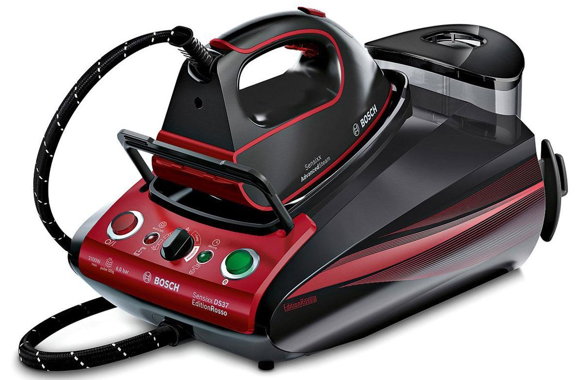 Bosch TDS 373118P, Red Black паровая станция - Гладильные системы