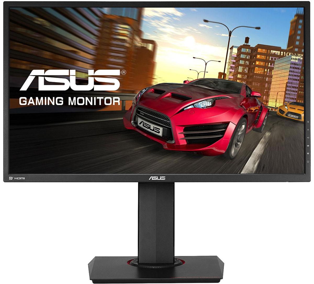 ASUS MG278Q, Black монитор90LM01S0-B01170Компания ASUS представляет новый 27-дюймовый широкоформатный монитор MG278Q с разрешением WQHD (2560 x 1440 пикселей) и частотой 144 Гц, созданный специально для геймеров. Благодаря малому времени отклика экрана (1 мс) и поддержке технологии синхронизации кадров AMD FreeSync пользователь может насладиться по-настоящему плавным игровым процессом. Превосходная эргономика корпуса MG278Q сочетается с эксклюзивными технологиями, способствующими комфорту во время долгих игровых сессий. Поскольку данная модель ориентирована, в первую очередь, на любителей компьютерных игр, в ней реализованы две специальные функции — GamePlus и GameVisual — дающие конкурентные преимущества в играх.Высокая детализация и точная цветопередача. Разрешение WQHD (2560 x 1440 пикселей) с пиксельной плотностью 109 пикселей на дюйм позволяет монитору ASUS MG278Q выводить изображение с высоким уровнем детализации. Кроме того, он может отобразить на 77% больше информации, чем стандартный монитор с разрешением Full HD (1920 x 1080 пикселей). Сверхбыстрое время отклика. Частота обновления экрана ASUS MG278Q достигает 144 Гц, а время отклика при переключении между полутонами — 1 мс, поэтому в динамичных играх не будут заметны визуальные артефакты в виде темных шлейфов за движущимися объектами. Технология AMD FreeSync, реализованная в MG278Q, устраняет неприятный эффект разрыва кадра и уменьшает задержку отображения, что обеспечивает как более высокое качество картинки, так и улучшенную реакцию игры на действия пользователя. Комфорт во время длительных игровых сессий. Монитор ASUS MG278Q обеспечивает пользователям высокий уровень комфорта при длительных игровых сессиях. Эксклюзивная технология ASUS Ultra-Low Blue Light, уменьшающая интенсивность синего света на 70%, сокращает вероятность появления неприятных симптомов, связанных с усталостью глаз от работы за компьютером. В экранном меню монитора можно выбрать один из четырех уровней фильтрации синего света, либо п