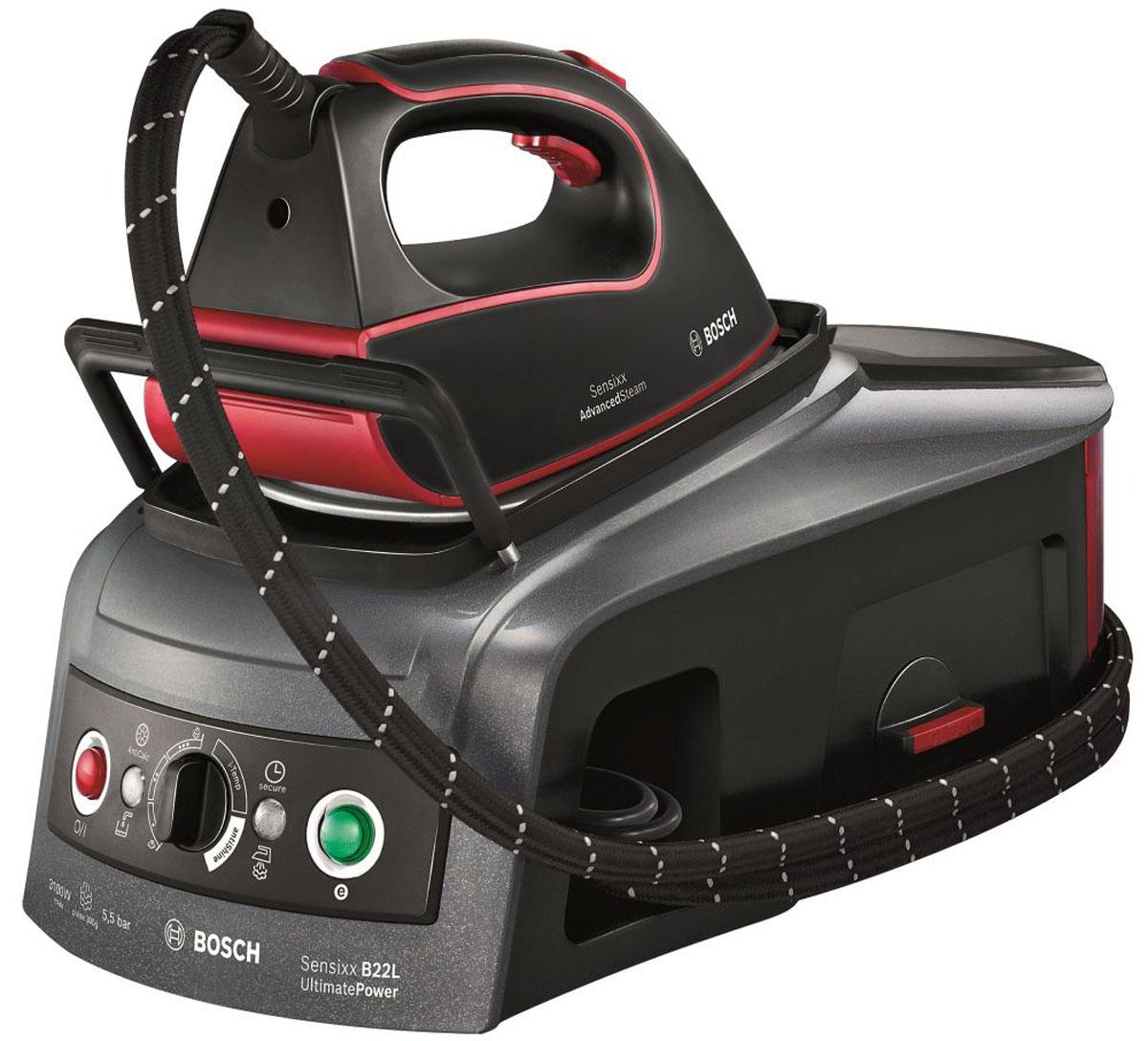 Bosch TDS 2251, Red Black паровая станция - Гладильные системы