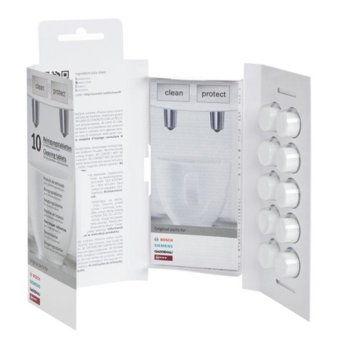 Bosch 311769 таблетки для очистки кофемашин от эфирных масел bosch 311813 набор средств для кофемашин