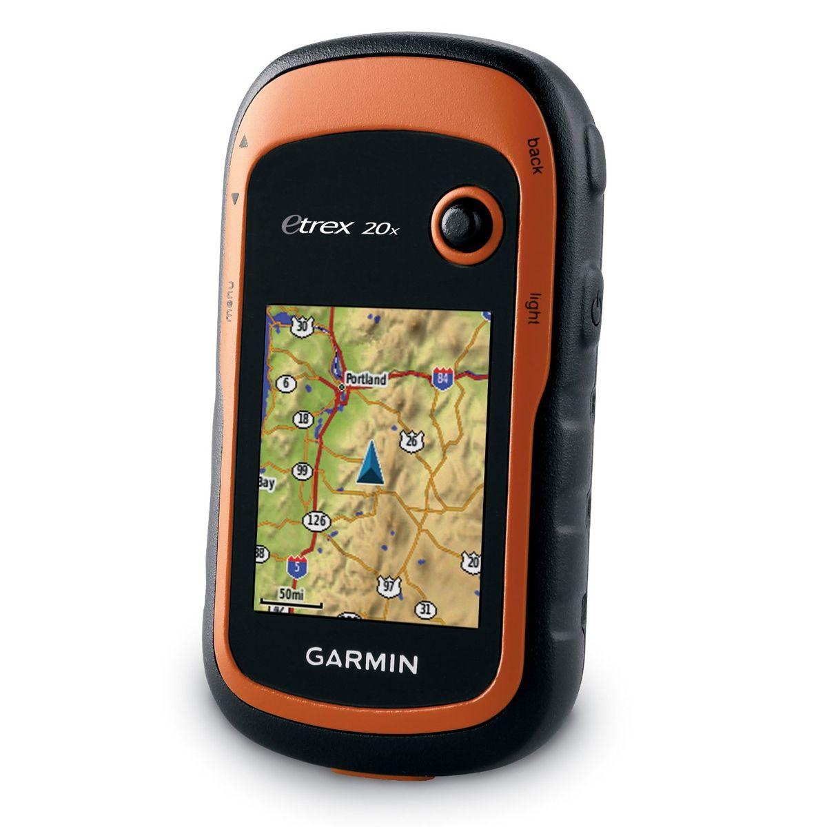Навигационный приемник Garmin eTrex 20x GPS, GLONASS Russia (010-01508-01) - Туристические GPS-навигаторы