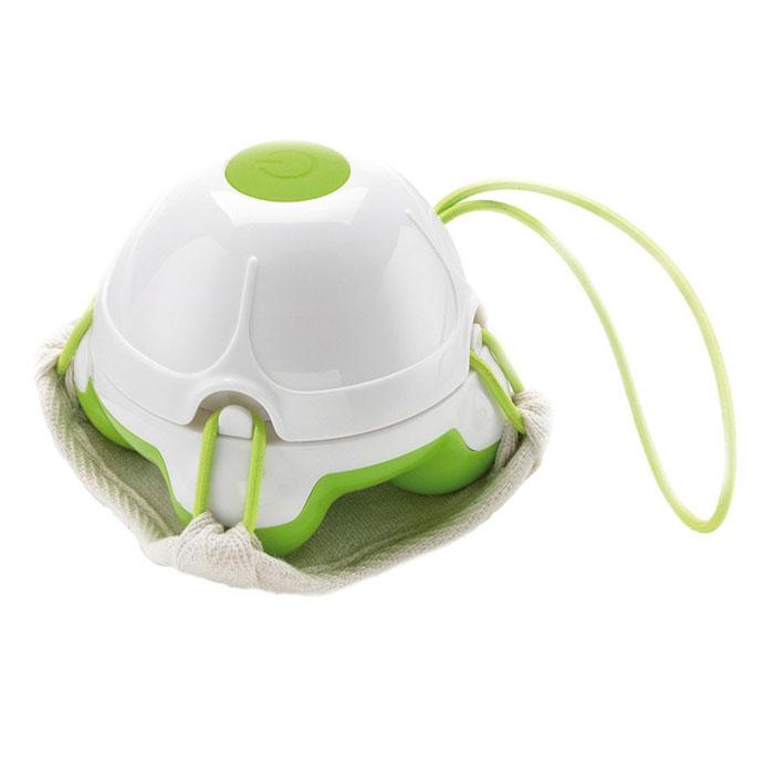Массажер-мочалка ручной Medisana HM 840, цвет: салатовый, белый