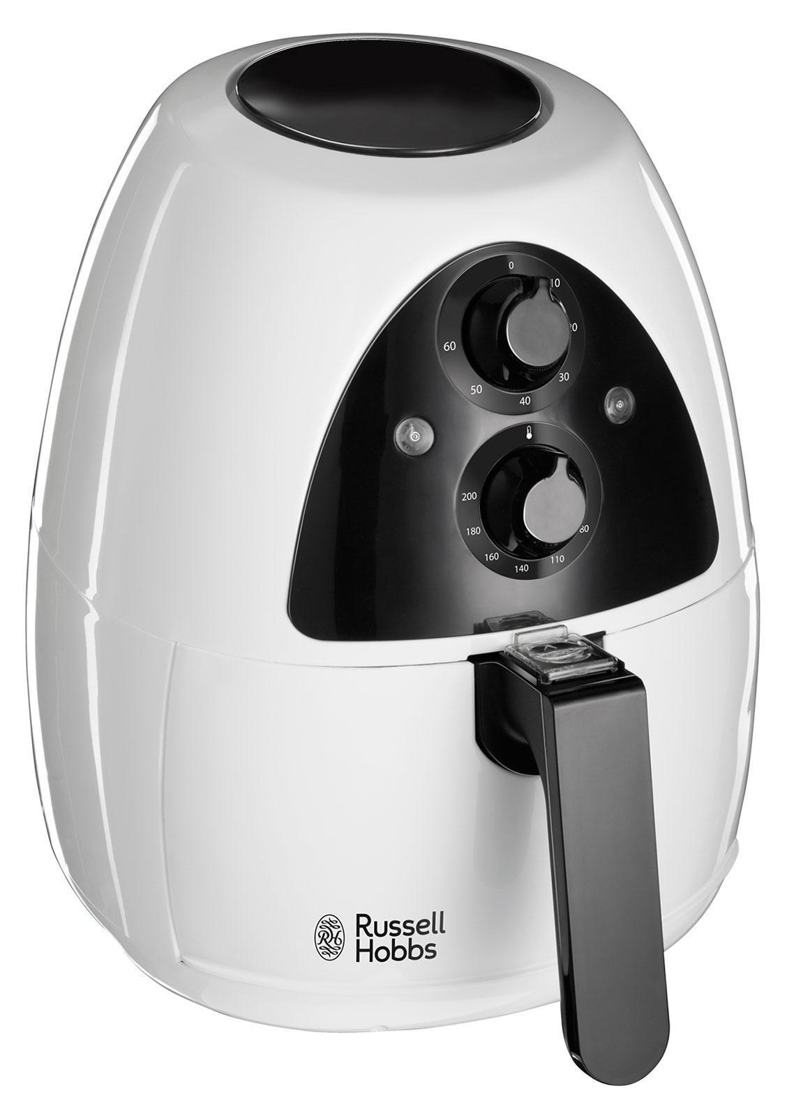 Russell Hobbs 20810-56 мультипечь20810-56Фритюрница Purifry подходит для приготовления картофеля-фри, мяса, рыбы, овощей и даже выпечки и многого другого! Специальный разделитель позволит готовить до двух блюд одновременно.Отсутствие необходимости добавлять масло означает меньше загрязнений, а безопасные для мытья в посудомоечной машине части фритюрницы Purifry крайне простые в очистке!Purifry крайне проста в обращении и время приготовления в ней значительно ниже. В отличие от традиционного фритюра, требующего добавления масла, наша мультипечь готова к работе гораздо быстрее, т.к. не требует предварительного разогрева масла. Отсутствие масла также означает значительно меньшее выделение запахов и дыма, сохраняя заманчивый аромат вкусно приготовленного блюда.