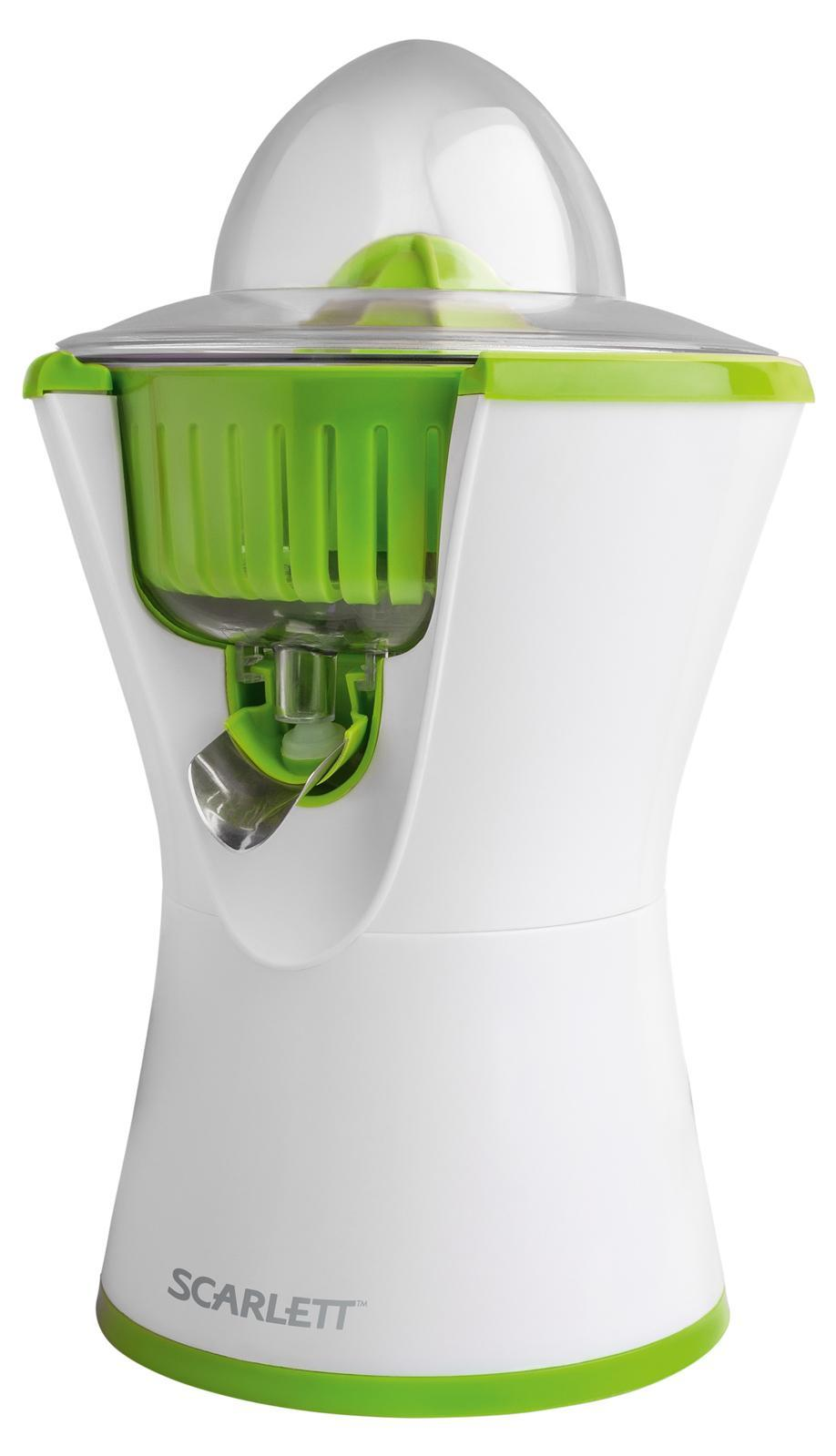 Scarlett SC-JE50C03, White Green соковыжималка для цитрусовыхSC-JE50C03