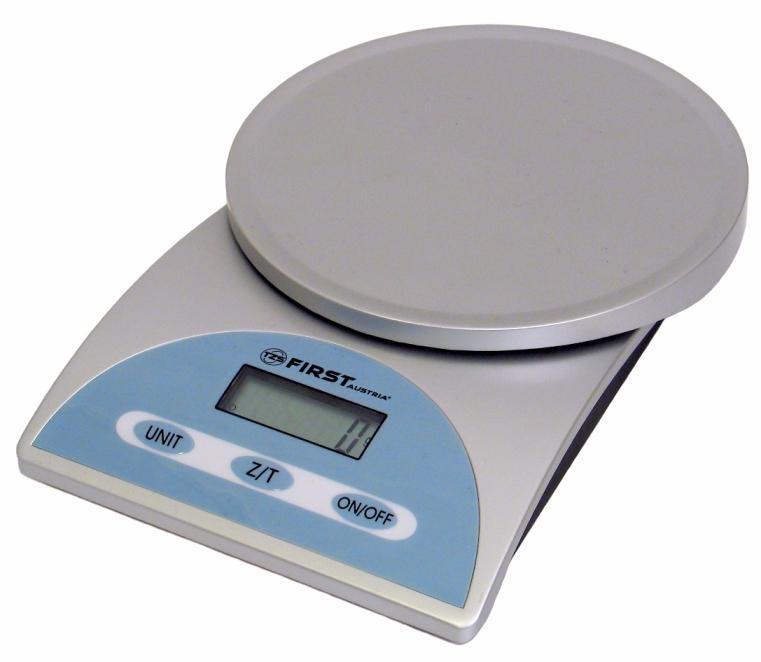 First FA-6405, Silver весы кухонные