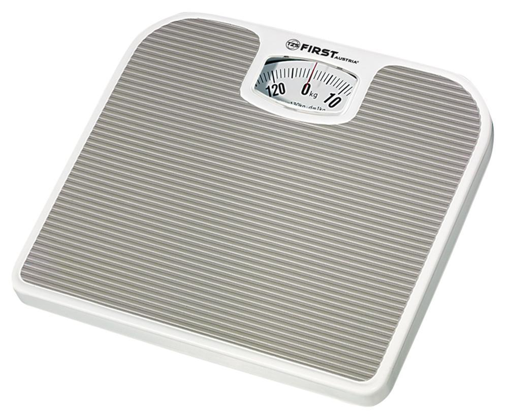 First FA-8020, Grey весы напольныеFA-8020 Grey8020 Весы напольные FIRST, механика, пластик., 130 кг, 1 кг, Grey