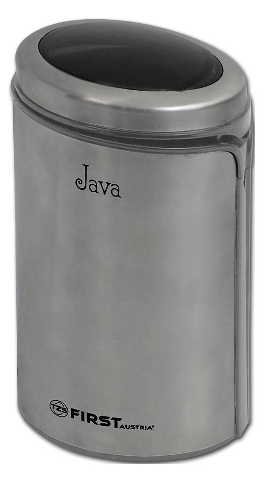 First FA-5485-2, Grey кофемолкаFA-5485-2 Grey5485-2 Кофемолка FIRST, 50 гр, 150 Вт, корпус нерж.сталь Grey