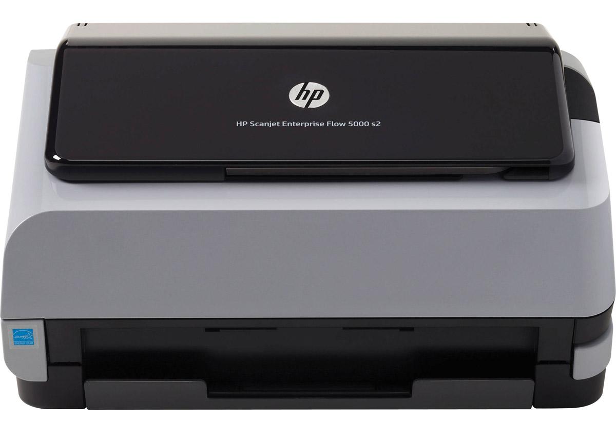 HP Scanjet Enterprise Flow 5000 s2 Sheet-feed Scanner (L2738A) сканерL2738AHP Scanjet Enterprise Flow 5000 s2 - идеальный выбор для крупных предприятий, которым требуется быстрый и надежный способ сканирования документов и повышения эффективности рабочих процессов с помощью компактного сканера с интуитивными функциями, обеспечивающими четкие детализированные результаты и упрощающими совместную работу пользователей.Отправка отсканированных файлов идет туда, где они требуются — прямо в облако или SharePoint. Размер файла имеет значение: файлы сохраняются с учетом размера, а большие файлы автоматически сжимаются. Полученные цифровые копии имеют четкость во всех деталях благодаря сканированию с разрешением до 600 точек на дюйм.Данная модель имеет компактные размеры, поэтому вы существенно экономите пространство на рабочем месте. Специальное ПО HP Smart Document Scan значительно упростит сканирования и сэкономит вам время. Доступно множество настроек для изменения в процессе сканирования: изменение размера страницы, устранение недостатков и настройка цвета.HP Scanjet Enterprise Flow 5000 s2 позволит работать быстро: скорость сканирования составляет до 25 страниц и 50 изображений в минуту. Этот надежный помощник будет верно служить вам, печатая и сканируя до 2000 страниц в день.Забудьте о пропущенный страницах и неправильной подаче бумаги даже при использовании бумаги разных типов. HP EveryPage обеспечивает более надежное обращение с бумагой при выполнении любых заданий.Используйте энергию рационально - сканер выключится автоматически, если его не используют, что помогает сократить расходы на электроэнергию.