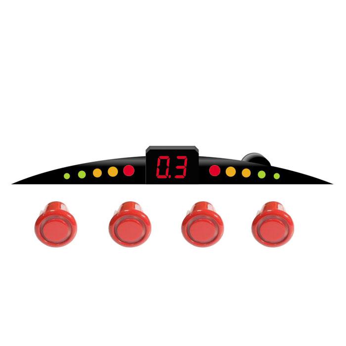 ParkCity Ultra Slim New 418/110, Red парковочный радар00000007907Очень часто приходится парковаться на оживленных улицах с ограниченным пространством для маневра. В данной ситуации вам непременно поможет парктроник ParkCity Ultra Slim New 418/110, позволяющий припарковать ваш автомобиль в самых сложных ситуациях.Уникальность данной модели - это сверхтонкий размер светодиодной шкалы и встроенный бипер со звуковым напоминанием о приближении препятствия. Комплектуется четырьмя датчиками и определяет расстояние до препятствия с 2,5 до 0,3 метров. Диаметр датчиков равен 18 мм.Уровень громкости звукового сигнала: 80 дБДиапазон рабочих температур: от -35 до +70°СНапряжение питания: от 10,8 до 15 ВПотребляемая мощность: 5 ВтРегулировка громкости звукаСамодиагностика при включении