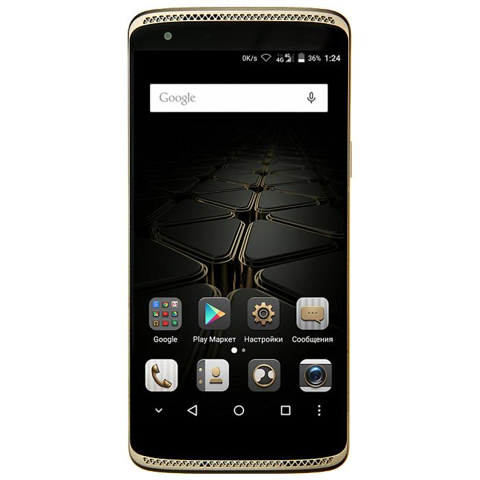 ZTE Axon Mini, GoldZTE AXON MINI (4G) GOLDЗащитить свой смартфон от несанкционированного доступа еще никогда не было так просто и надежно! Axon Mini обладает тремя способами биометрической идентификации - датчик отпечатка пальца, датчик распознавания голоса и датчик распознавания сетчатки глаза.Стиль и надежность в каждой детали:Корпус смартфона выполнен из авиационного алюминия в обтекаемом форм-факторе, что обеспечивает сочетание высокой эргономики, механической прочности устройства и низкого веса - всего 132 грамма. Толщина изделия составляет 7,9 мм.Новый уровень цифрового звучания:Любители цифрового звука будут приятно удивлены наличием в смартфоне Axon Mini независимого аудио-чипсета и кодека премиального уровня AKM4961 от японской корпорации Asahi Kasei Microdevices, который обеспечит высочайшее качествовоспроизведения любимых треков. Кроме того, благодаря передовым функциям шумоподавления, уровень записываемого звука при видеосъемке будет сравним со студийным.Full HD-дисплей:ZTE Axon Mini имеет в арсенале Full HD-дисплей, что обеспечивает высочайшую четкость и качество картинки. Его 5,2-дюймовый дисплей построен на технологии Super AMOLED благодаря чему изображение на экране выглядит великолепно под любым угломОтличные камеры:Axon Mini имеет основную 13-мегапиксельную камеру с диафрагмой F/2.2 и фазовым автофокусом, наводящим резкость за десятую долю секунды. Захват селфи осуществляется 8-мегапиксельной камерой с широкой апертурой F/2.0.Телефон сертифицирован Ростест и имеет русифицированный интерфейс меню, а также Руководство пользователя.