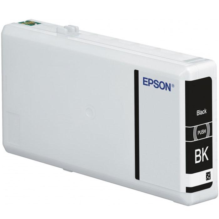 Epson T7911 (C13T79114010), Black картридж для WorkeForce Pro WF-5xxxC13T79114010Картридж Epson T7911 с голубыми чернилами для Epson WorkForce Pro служит для печати превосходных фотоснимков и рассчитан на 900 страниц печати.