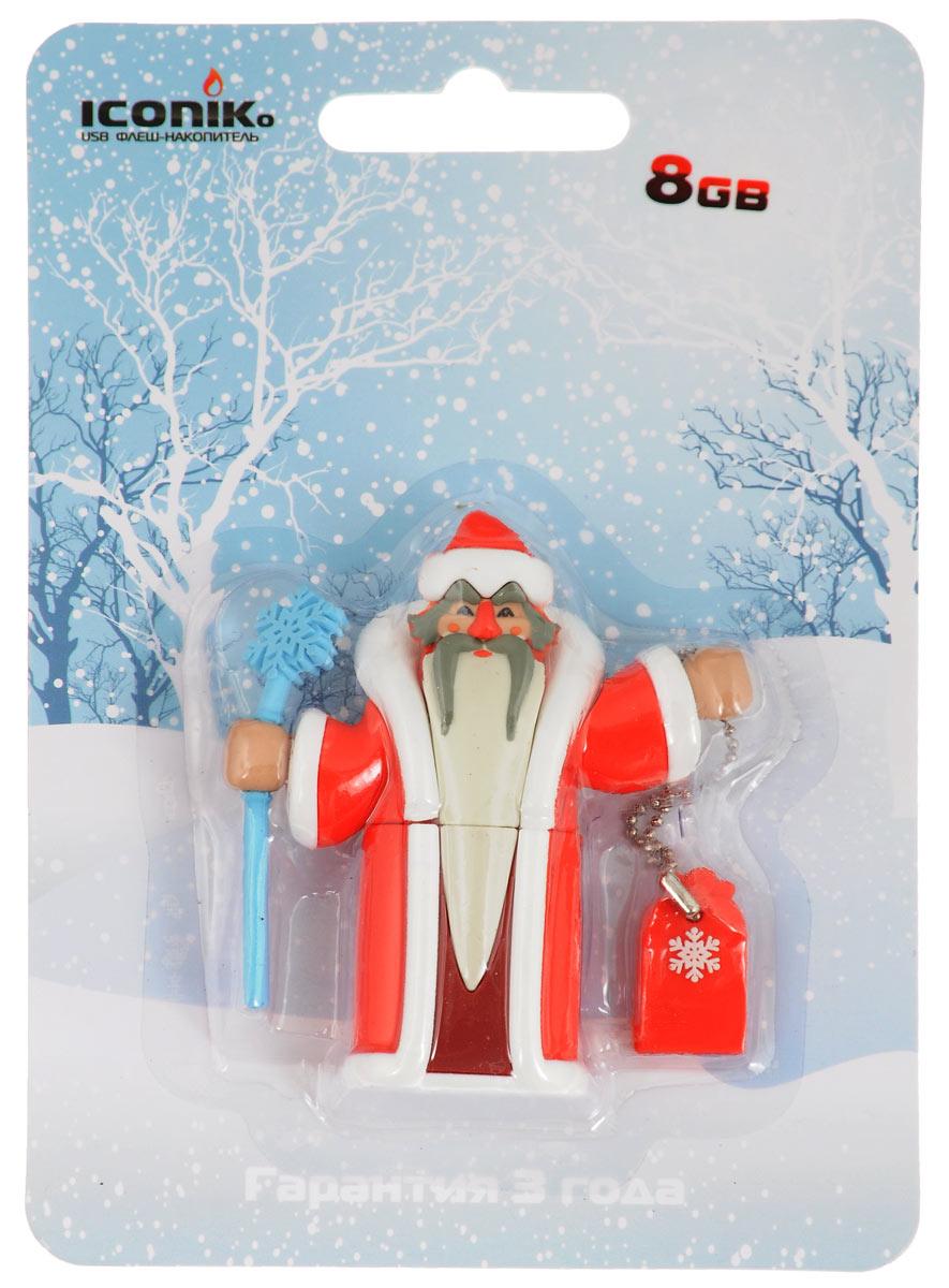 Iconik Дед Мороз 8GB USB-накопитель - Носители информации