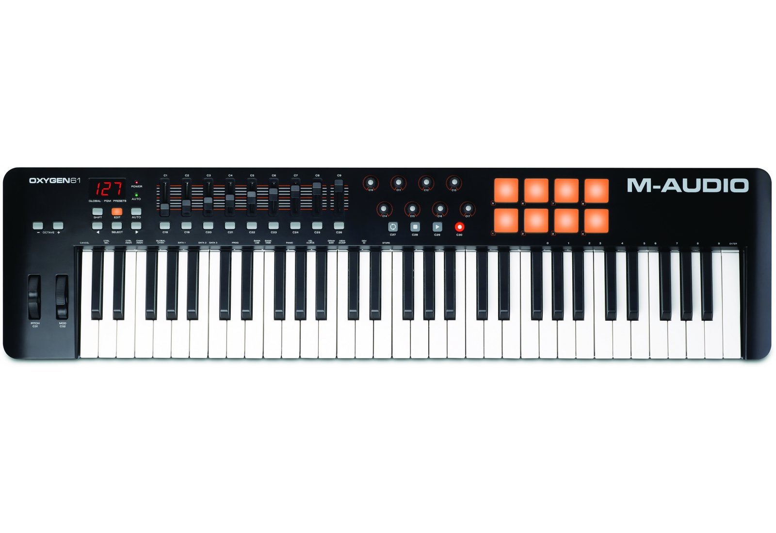 M-Audio Oxygen 61 IV Midi-клавиатура