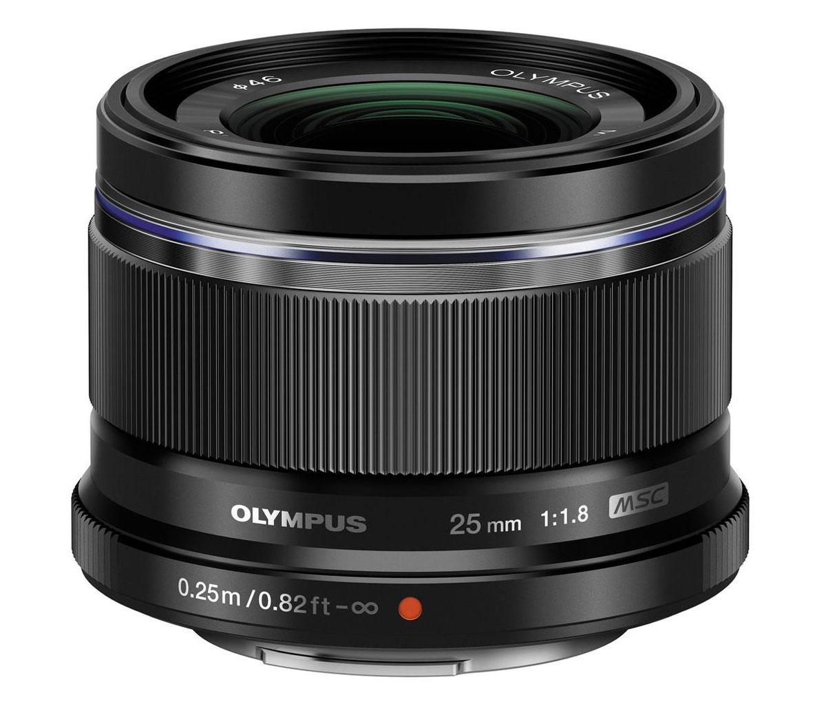 Olympus M.Zuiko Digital 25mm f/1.8, Black объективV311060BE000Объектив Olympus M.Zuiko Digital 25mm f/1.8 обладает отличными оптическими характеристиками: красивое боке на открытой диафрагме и фокусировка на близких объектах. Компактность и удивительная прочностьОбъектив обладает теми же характеристиками, что и знаменитый M.Zuiko Digital ED 45мм 1:1.8. Минимальная диафрагма 1:1.8 обеспечивает вам контроль над глубиной изображения и возможность снимать при недостаточном освещении, что дополняется фирменной системой стабилизации Olympus, которая противодействует вибрациям камеры и обеспечивает резкие изображения даже на длинных выдержках. Объектив можно использовать во множестве ситуаций, его стандартное фокусное расстояние воспроизводит такой охват сцены, который характерен для человеческого зрения, и обеспечивает естественные пропорции. Он станет прекрасным дополнением к китовому объективу.Особенности:Сменное декоративное кольцоВысокоскоростной автофокус с технологией MSCВысокая светосила для управления глубиной резкости