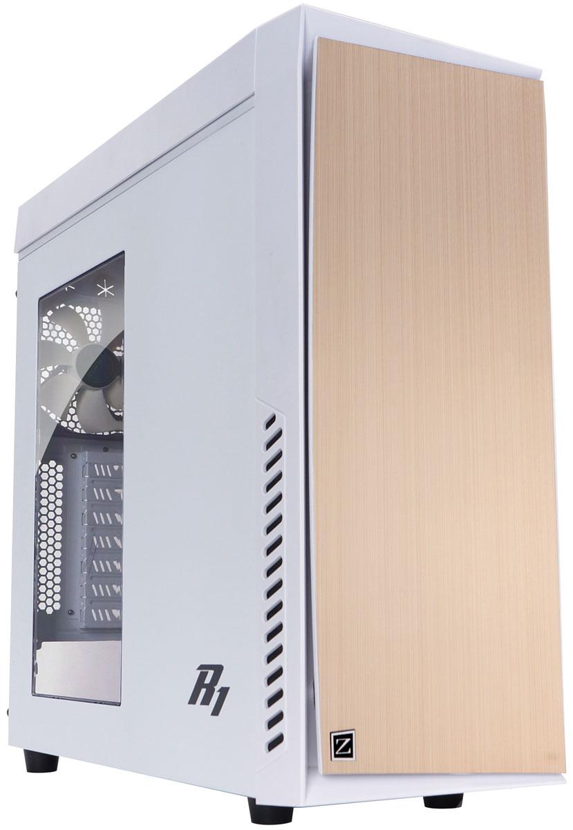 Zalman R1, White компьютерный корпус79753Компьютерный корпус Zalman R1.Оптимизированная структура системы воздушного охлаждения:Мощное охлаждение при низком уровне шума с системой вентиляции Zalman.Возможность установки до 5 системных вентиляторов:Помимо трёх предустановленных вентиляторов, обеспечивающих максимальное охлаждение системы, предусмотрена возможность установки ещё 2 дополнительных.Двухуровневый контроллер вентиляторов:Пользователь может устанавливать один из двух режимов охлаждения либо отключать егоЭксклюзивное охлаждение блока питания:Охлаждение блока питания через нижнюю панель корпуса для максимальной эффективности и стабильной работы устройства.Классический дизайн передней дверцы:Линейное тиснение алюминиевой дверцы, лаконичный дизайн.Акриловая вставка в боковой панели:Стильная акриловая вставка на боковой панели как элемент дизайна.Черное покрытие интерьера:Роскошный дизайн интерьера подчеркивается его элегантным черным покрытием.Поддержка USB 3.0 и удобный интерфейс:Порт USB 3.0, аудиоразъём, кнопки питания и перезагрузки для удобства пользователя расположены на передней части верхней панели корпуса.Предустановленные противопылевые фильтры:Для предотвращения попадания пыли в систему на вентиляционных шахтах фронтальной, боковой и нижней панелей установлены специальные фильтры.Звукоизоляция:Внутренняя сторона передней дверцы со звукоизоляцией, что снижает уровень шума, производимого системой во время работы.Съёмная верхняя панель:Предусмотрена возможность снятия верхней панели с целью дополнительного охлаждения.Безграничные возможности для расширения:Возможности установки до 8 HDD/ODD/SSD, 160-мм кулера CPU. двойного радиатора системыВозможность установки высокопроизводительных видеокарт:Возможна установка 360-мм высокопроизводительной видеокарты.VF (VGA/FAN) направляющие:Направляющие предотвращаю перегибы видеокарты и позволяют установить дополнительные вентиляторы.Простая установка HDD/ODD без дополнительных инструментов:Установка и демонтаж HDD