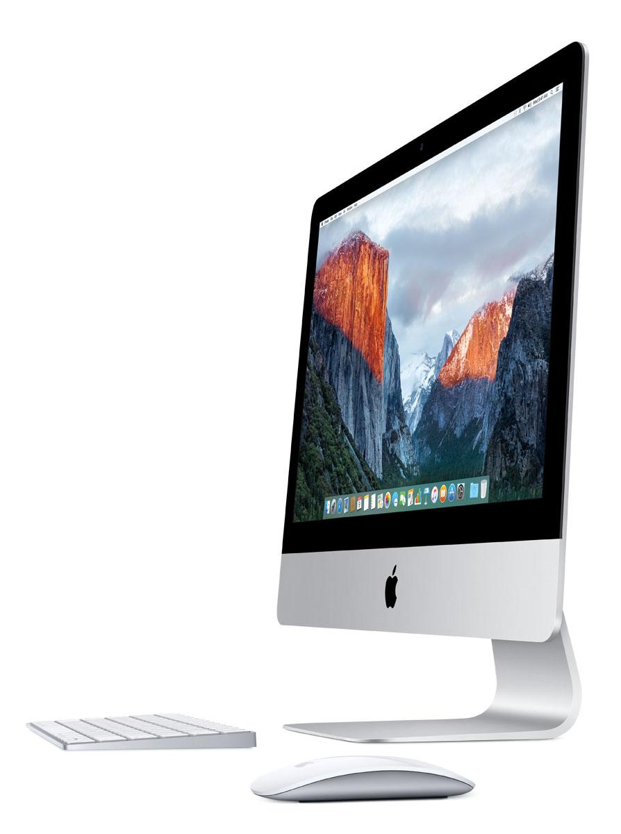 Apple iMac 21.5 Retina 4K (MK452RU/A) моноблокMK452RU/AМоноблок Apple iMac 21,5.Технология IPS и подсветка LED:Великолепный дисплей iMac 21,5 выглядит потрясающе с любого угла просмотра. Технология плоскостного переключения in-plane switching (IPS) обеспечивает чёткое изображение и точную цветопередачу под любым углом. А подсветка LED гарантирует мгновенное включение и одинаковую яркость с самого начала и до конца. Так что вы в любую минуту можете продемонстрировать родным слайд-шоу своих фотографий из поездки.Всегда живые и точные цвета:Всё, что вы видите на большом глянцевом экране - от оттенков кожи и теней до голубого неба и зеленых лугов - выглядит ярким и насыщенным. К тому же, цвета стали более реалистичными. Потому что для каждого дисплея iMac цвета калибруются индивидуально с помощью новейших спектрорадиометров и соответствуют стандартам цвета, признанным во всём мире.Графика от Intel и NVIDIA:Графические процессоры iMac невероятно мощные. Встроенный процессор Intel HD Graphics, ещё более скоростной процессор Intel Iris Pro Graphics или сверхскоростной NVIDIA - у вас есть из чего выбирать. Все они позволяют играть в 3D-игры, а также использовать фото- и видеоредакторы высокого разрешения и другие ресурсоёмкие приложения с плавной анимацией.Fusion Drive:На iMac можно установить накопитель под названием Fusion Drive, в котором объединены вместительный жёсткий диск и высокопроизводительная флэш-память. Fusion Drive автоматически распределяет ваши данные таким образом, чтобы часто используемые приложения, документы, фотографии и другие файлы хранились на более быстром устройстве флэш-памяти, а редко использующиеся элементы перемещались на жёсткий диск. Благодаря этому компьютер быстрее загружается. А когда операционная система запомнит, с чем вы предпочитаете работать, она сможет быстрее запускать ваши любимые приложения и открывать файлы.Разъемы Thunderbolt 2:Сверхскоростной многоцелевой порт Thunderbolt 2 обеспечивает молниеносную передачу данных и невероятны