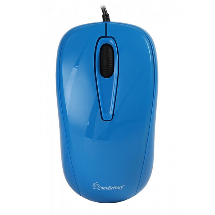 SmartBuy SBM-310, Light Blue мышьSBM-310-CNПроводная оптическая мышь Smartbuy SBM-310 предназначена как для правой, так и для левой руки. Используется в работе с ноутбуком, имеет 3 кнопки, разрешение датчика 1000 dpi. Благодаря чувствительному сенсору мышь может работать на различных поверхностях, не теряя при этом своей точности и плавности. Имеет современный эргономичный дизайн.