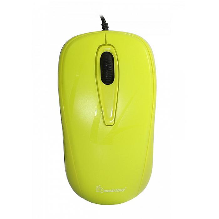 SmartBuy SBM-310, Yellow мышьSBM-310-LПроводная оптическая мышь Smartbuy SBM-310 предназначена как для правой, так и для левой руки. Используется в работе с ноутбуком, имеет 3 кнопки, разрешение датчика 1000 dpi. Благодаря чувствительному сенсору мышь может работать на различных поверхностях, не теряя при этом своей точности и плавности. Имеет современный эргономичный дизайн.