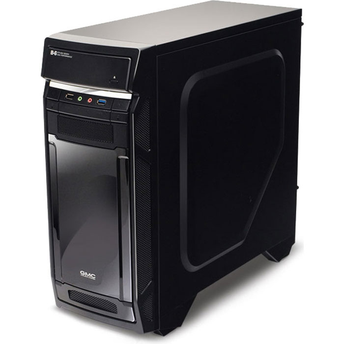 GMC B6 Shiny, Black компьютерный корпус