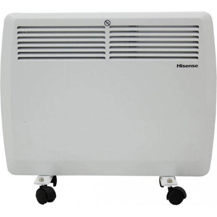 Hisense ND10-45J(E) конвекторND10-45J(E)Конвекторы Hisense серии Heat Air сочетают в себе высочайшее качество, функциональность, продуманный подход к процессу обогрева и утонченный дизайн.Конвекторы Hisense Heat Airпроизведены с соблюдением самых жестких мировых требований к безопасности. Все электрические элементы отделены от воздушного канала специальными отсекателями. Использованный сверхдолговечный никелево-стальной нагревательный элемент, установленный на керамических изолирующих втулках, имеет высочайшую жесткость и надежность и фактически не имеет аналогов на российском рынке.Благодаря встроенному сенсору опрокидывания, защиты от перегрева и высокому классу влагозащиты IP22 конвектор можно безопасно использовать даже в детской комнате. Также серия обладает целым рядом необходимых режимов и опций, такими, как 2 режима выбора уровня мощности, дополнительная изоляция клавиш переключения и плавная регулировка температуры.Установить конвектор на пол или на стену проще простого благодаря входящему в комплект мобильному шасси и набору для настенного монтажа. Помимо этого Heat Air обладает повышенной надежностью корпуса - толщина стали прибора равна 0.8 мм, что в среднем на 25% больше чем у аналогов.Конвекторы Hisense серии Heat Air подарят уют вашему дому на долгие годы.
