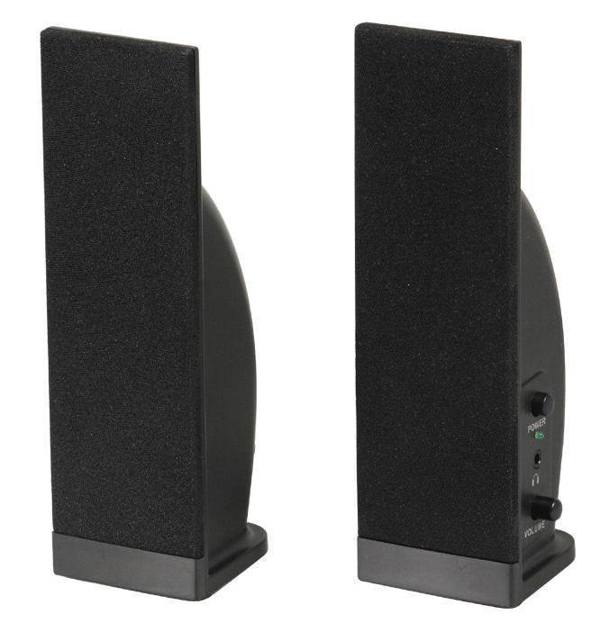 Sven 230, Black акустическая система 2.0 колонки sven 230