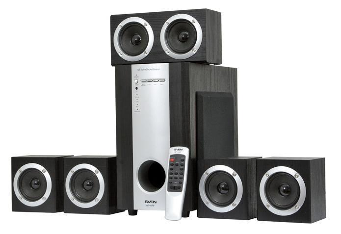 Sven HT-435D, Black акустическая система 5.1