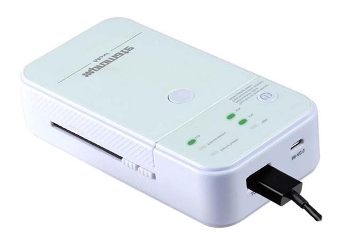 Promate Moxi, White внешний аккумулятор6959144006437Moxi - компактный и экстремально мощный аккумулятор для подзарядки, который также может заряжать все типы литио-ионных заряжаемых батареек. Он может зарядить не только батареи от камеры или смартфона, но и обеспечить повторную зарядку перезаряжаемых батарей типа АА и ААА. Moxi также располагает дополнительным USB портом для зарядки любых цифровых девайсов типа смартфонов, МР3 плееров, диктофонов и т.д. Идеально для пользователей, кто хочет с помощью одного портативного устройства для зарядки иметь возможность заряжать практически все приборы. Жизнь без ограничений с Moxi!