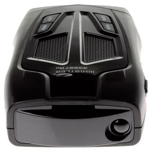 Whistler WH-338ST Ru, Black радар-детектор00000006773Распознавание излучения «Стрелка-СТ/М» выдает четкую визуальную информацию об обнаруженном излучении (в том числе «Стрелка»), режимах работы и уровне излучения в виде числовых значений от 1 до 9.Intergrated Real Voice® обеспечивает голосовое оповещение на Русском, Украинском, Казахском и Английском языках о диапазонах обнаруженного излучения и режимах работы, что позволяет не отвлекаться от дорожной ситуации.Символьно-цифровой дисплей выдает четкую визуальную информацию об обнаруженном излучении (в том числе «стрелка») и режимах работы.Отключаемый диапазон ка позволяет снизить число ложных срабатываний радар-детектора, если этот диапазон обнаружения не используется.