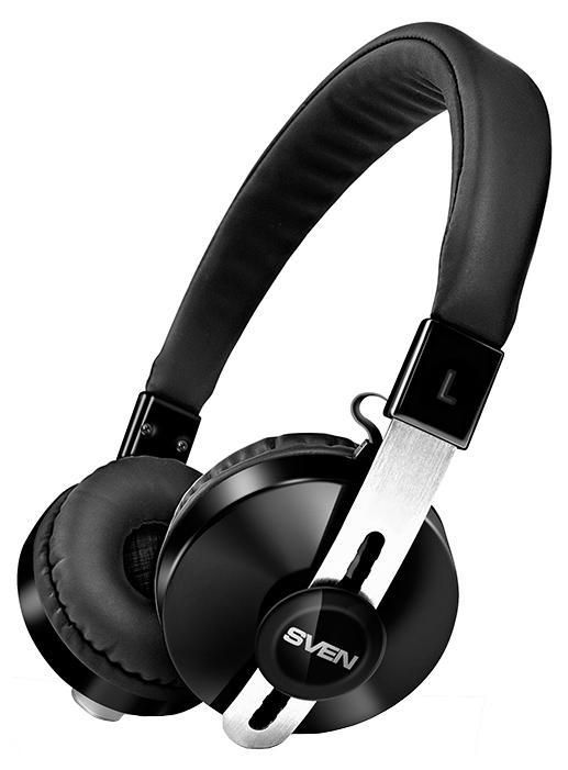 Sven AP-B350MV, Black беспроводные наушники с микрофономSV-012687Компания SVEN представляет беспроводную Bluetooth-гарнитуру - AP-B350MV.Широкий частотный диапазон новинки обеспечивает отличное качество воспроизведения музыки любых жанров. Глубокий, богатый и насыщенный звук SVEN AP-B350MV понравится настоящим меломанам.Беспроводная гарнитура дарит пользователю полную свободу движений. Благодаря встроенному Bluetooth модулю 4.0 эта модель способна поддерживать устойчивую связь со смартфонами или планшетами на расстоянии до 10 метров. Встроенный аккумулятор гарнитуры обеспечивает до 10 часов непрерывной работы устройства без дополнительной подзарядки. Модель укомплектована 3,5 мм (3 pin) аудио-кабелем – его можно подключить к любым воспроизводящим устройствам и продолжить прослушивание любимых композиций, если гарнитура разрядится в неподходящий момент.Мягкие амбушюры AP-B350MV плотно обхватывают ушную раковину и обеспечивают надежную защиту от посторонних шумов. Благодаря продуманной конструкции AP-B350MV очень комфортна в использовании. Модель оснащена чувствительным широко направленным встроенным микрофоном, обеспечивающим качественную передачу звука при мобильном общении.