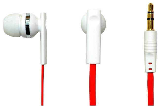 Oxion EPO301, White наушникиEPO301WHНаушники OXION EPO301 (Затычки, 20-20kHz, 102±3dB, 32 Ом, плоскийшнур 1,2м). Плоский шнур в современном стиле. Наушники имеюткрасивый, стильный корпус с приятной акустикой. Легкие и комфортныев применении, хорошо подходят для пользования на MP3 плеере.