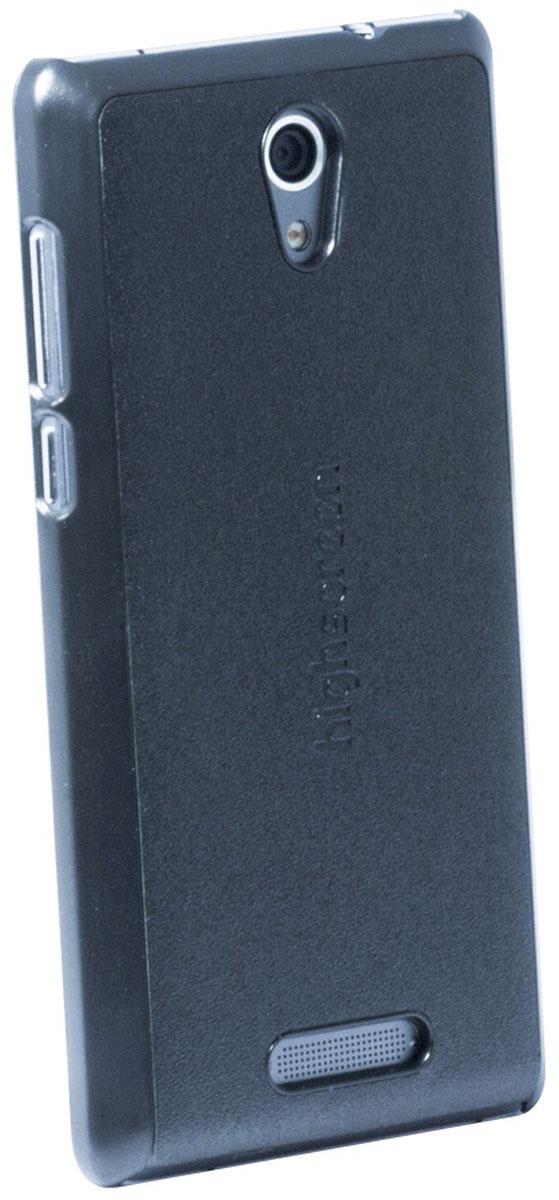 Highscreen чехол для Power Five, Black23020Чехол - накладка Highscreen для Power Five надежно защищает ваш смартфон от внешних воздействий, грязи, пыли, брызг. Он также поможет при ударах и падениях, не позволив образоваться на корпусе царапинам и потертостям. Чехол обеспечивает свободный доступ ко всем функциональным кнопкам смартфона и камере.