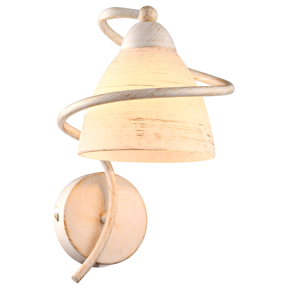 Светильник настенный Arte Lamp FABIA A1565AP-1WG бра fabia arte lamp 1099618