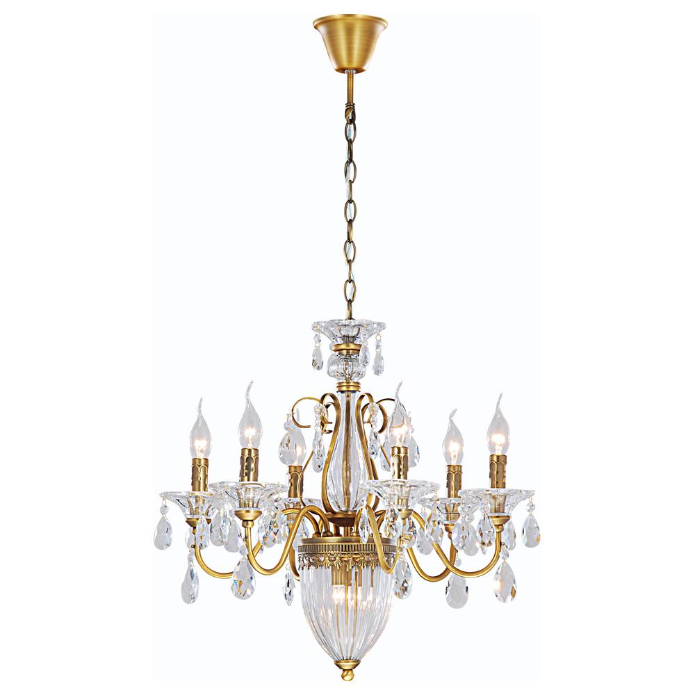 Светильник подвесной Arte Lamp Schelenberg. A4410LM-6-2SR
